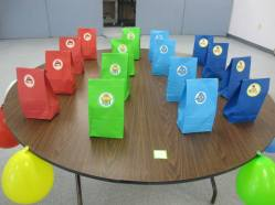 Angry Birds Party (gift bags)