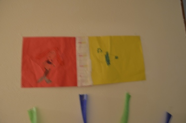 6 YO Ariel and Flounder drawing