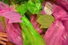 Gift Bag Contents + 1 sea pop and 1 Ursula's Tentacles